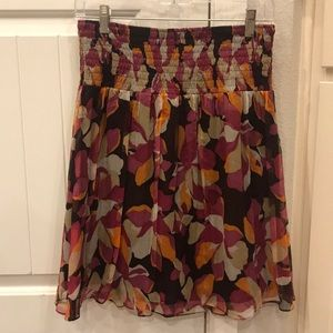 Laundry By Shelli Segal Floral Skirt Size 2